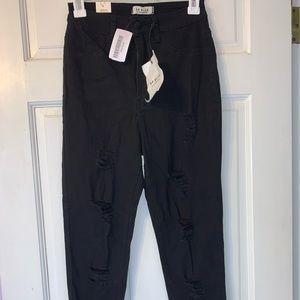 Ripped Black Skinny Jeans Forever 21